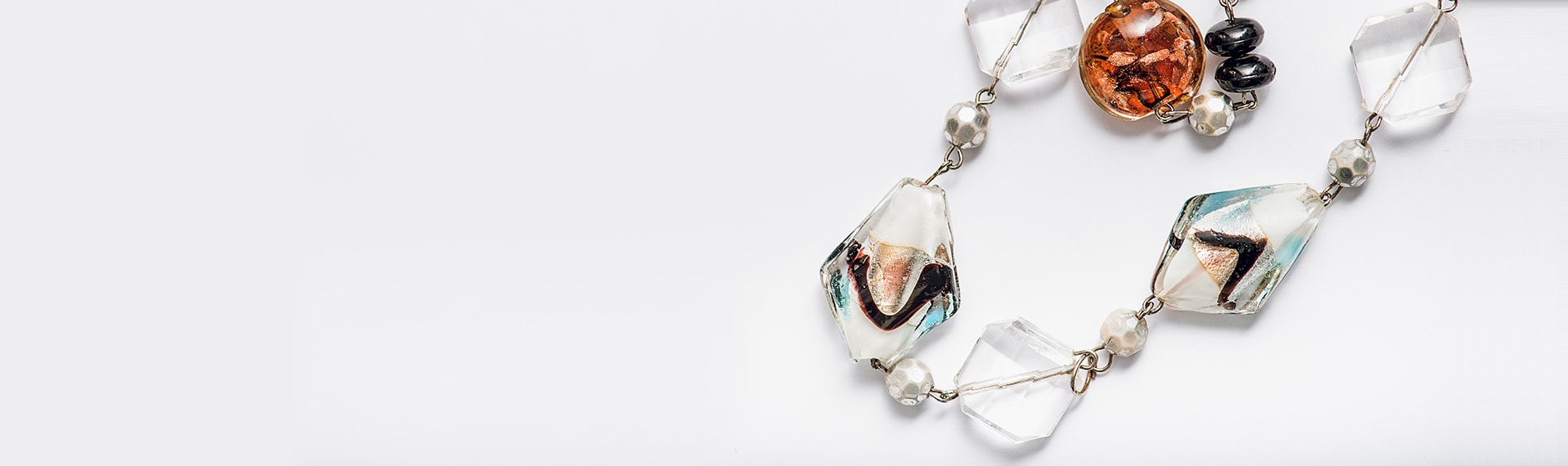 Great necklace from natural stones