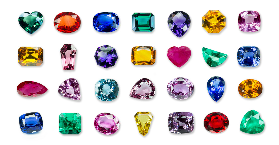 Exquisite quality gemstones available for custom jewelry